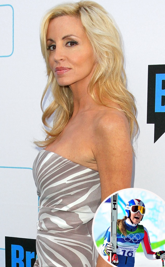 Camille Grammer, Skiing