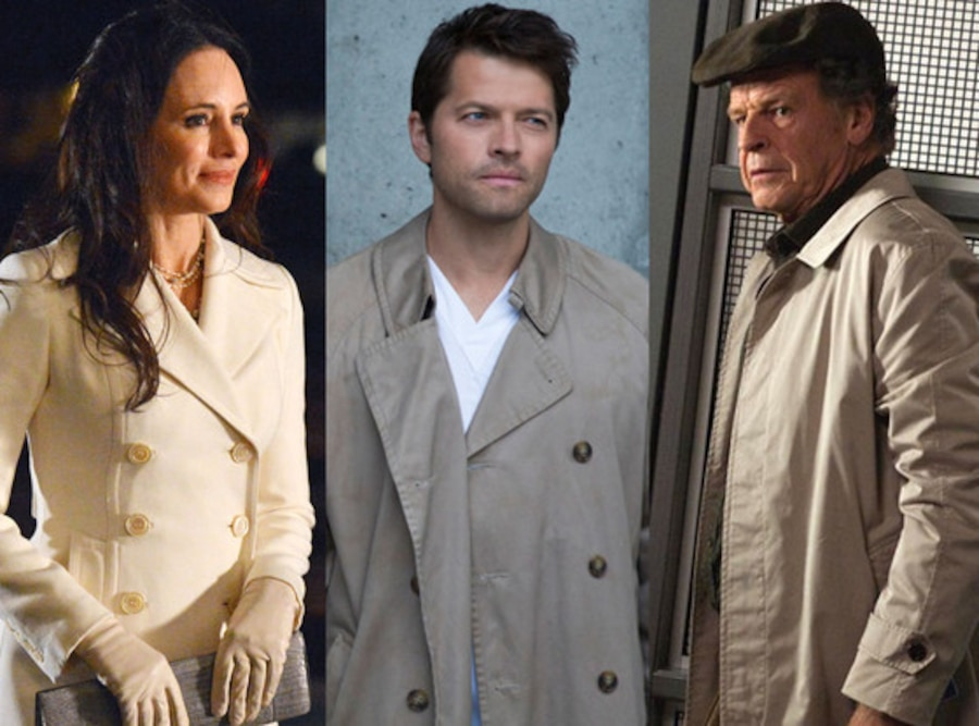 Misha Collins, Supernatural, Madeleine Stowe, Revenge, John Noble, Fringe