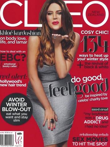 Khloe Kardashian, Cleo Magazine
