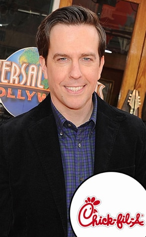 Ed Helms, Chick-Fil-A