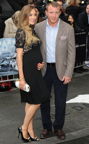 Jacqui Ainsley, Guy Ritchie