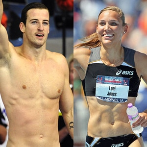 Hottest Olympian Bodies, James Magnussen, Lori Lolo Jones