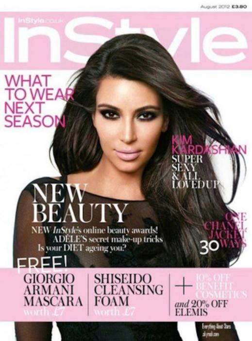 Kim Kardashian, InStyle UK