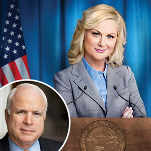 Parks and Recreation, Amy Poehler, John McCain