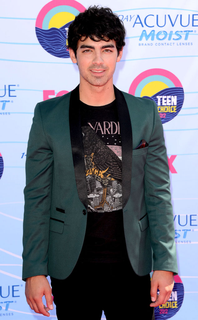 TEEN CHOICE 2012, Joe Jonas