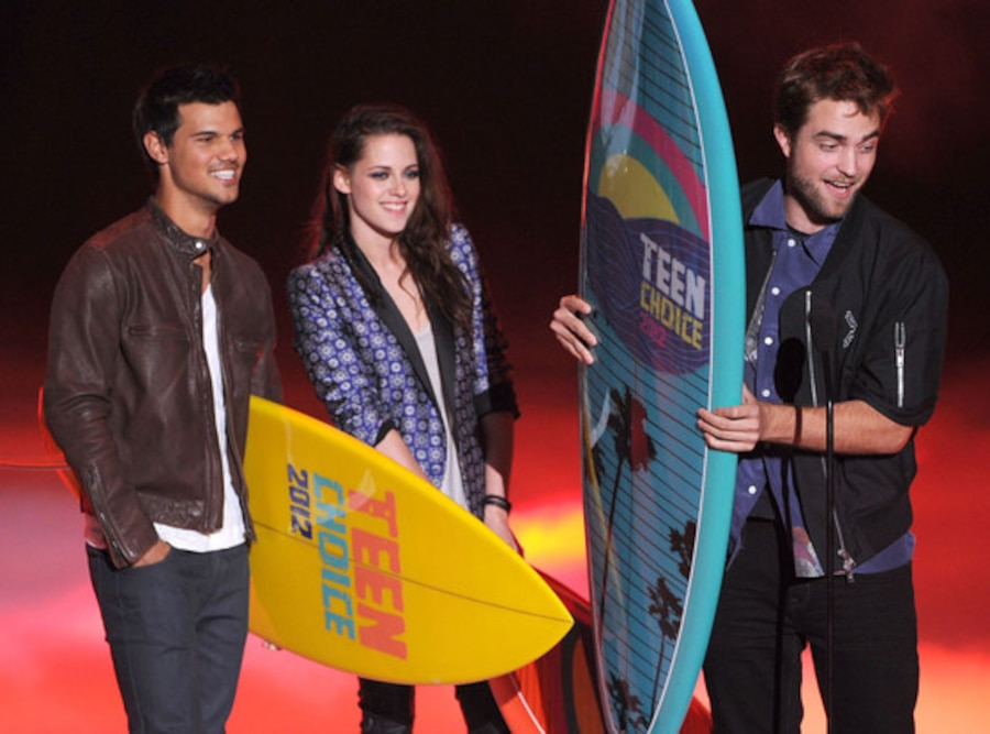 TEEN CHOICE 2012 Show, Kristen Stewart, Robert Pattinson, Taylor Lautner