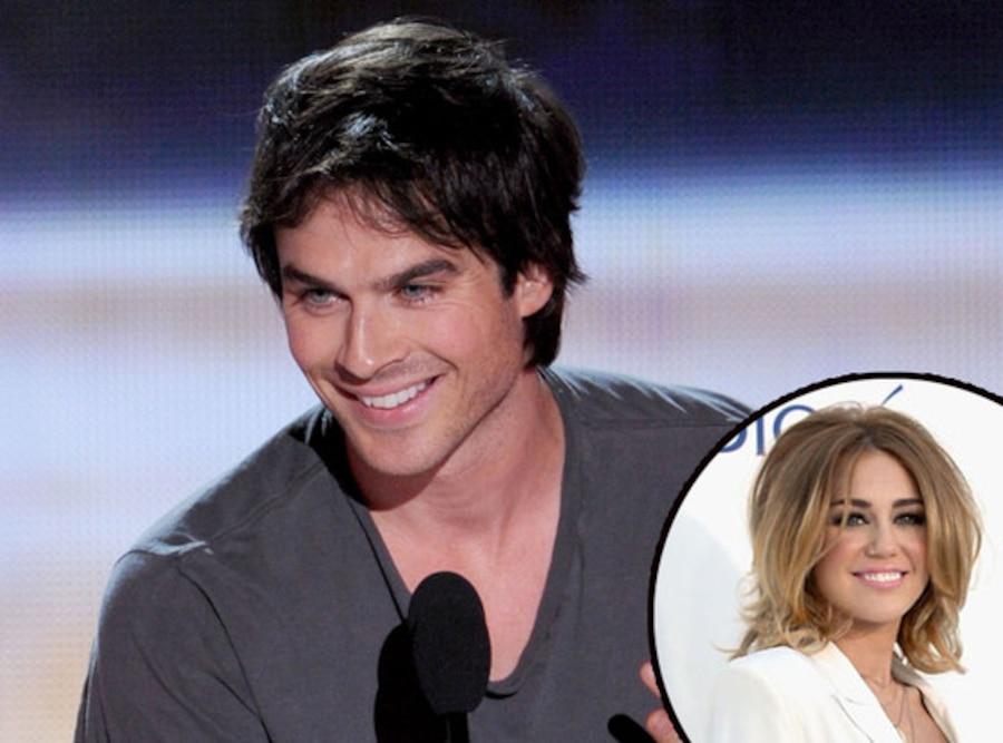Ian Somerhalder, Miley Cyrus