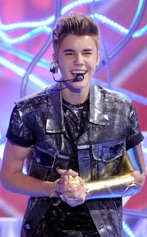 TEEN CHOICE 2012, Justin Bieber