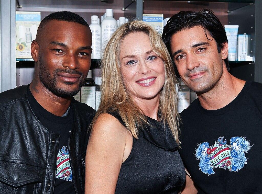 Tyson Beckford, Sharon Stone, Gilles Marini