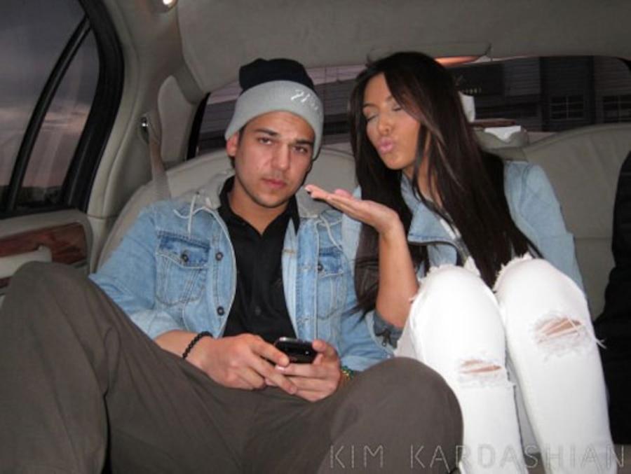 Kim Kardashian, Rob Kardashian