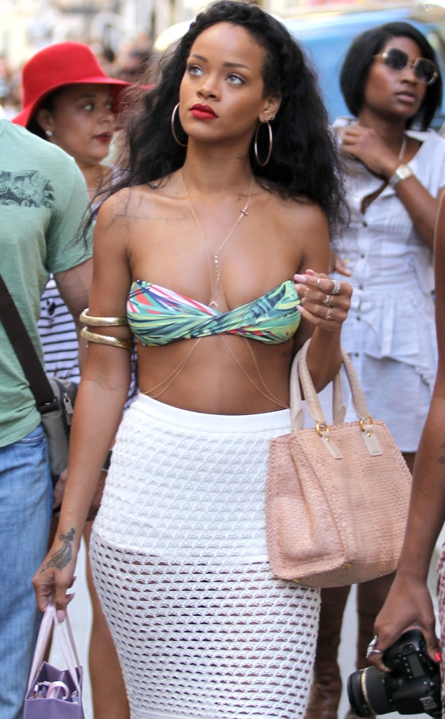 Rihanna, Bikini, St. Tropez