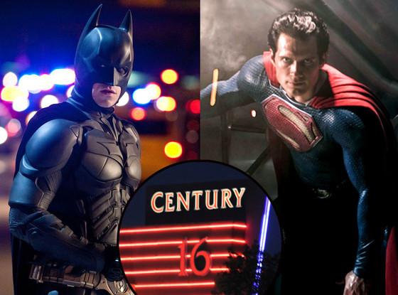 Man of Steel, Dark Knight Rises, Colorado theater