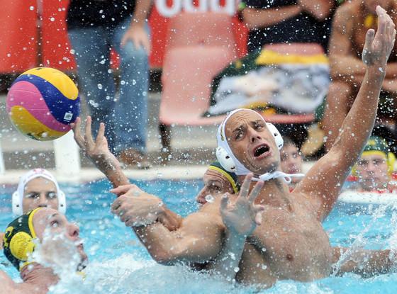 Hungary's Water Polo Team