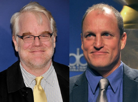 Woody Harrelson, Philip Seymour Hoffman