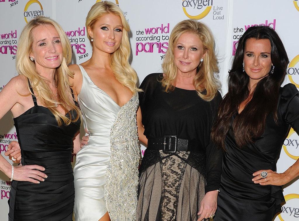 Kathy Hilton, Paris Hilton, Kyle Richards, Kim Richards