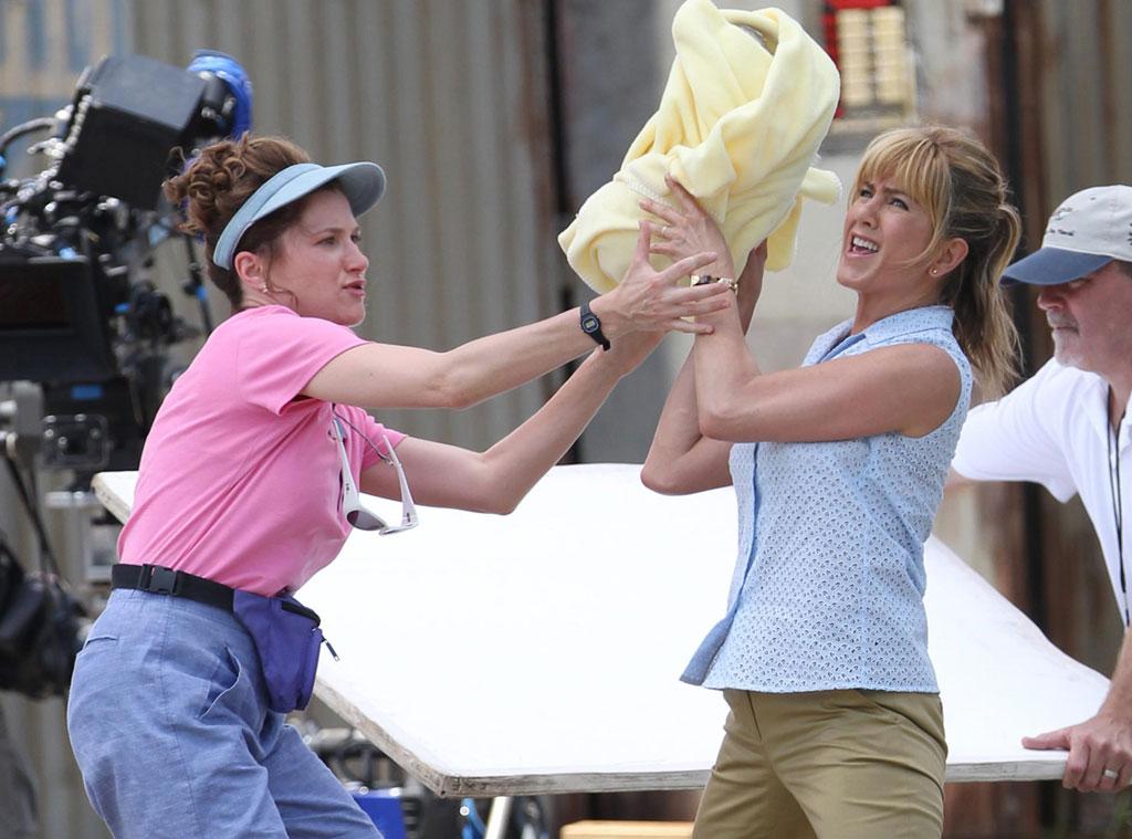 Jennifer Aniston, Kathryn Hahn