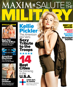 Kellie Pickler, Maxim