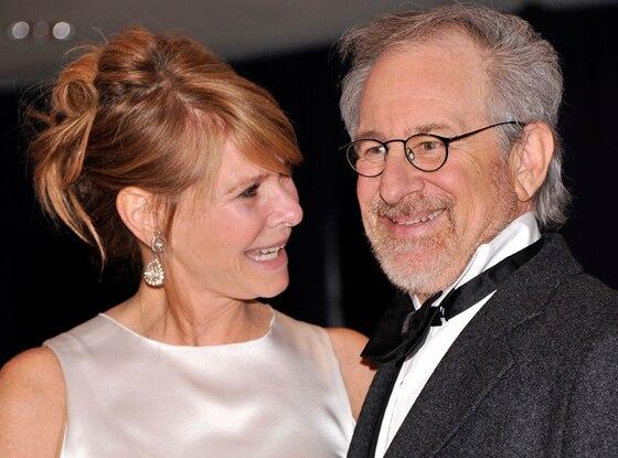Kate Capshaw, Steven Spielberg