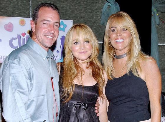 Michael Lohan, Lindsay Lohan, Dina Lohan