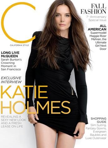 Katie Holmes, C Magazine Cover