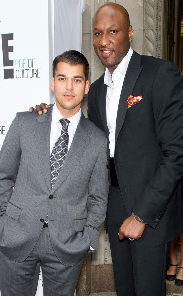 Rob Kardashian, Lamar Odom