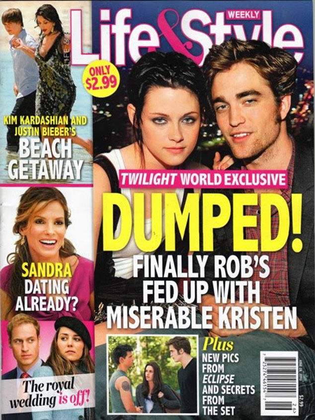 Kristen Stewart, Robert Pattinson, Magazine Cover
