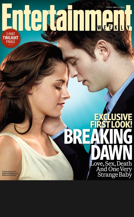 Black Bar for Galleries, do not use in blog, Kristen Stewart, Robert Pattinson, Magazine Cover