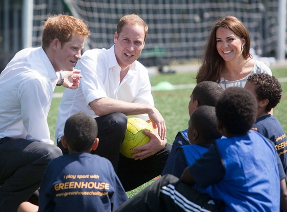 Catherine, Duchess of Cambridge, Prince Harry, Prince William