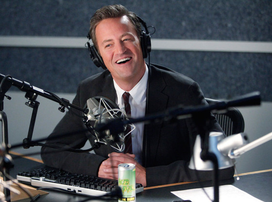 GO ON, Matthew Perry