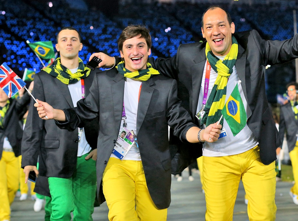 Team Brazil, London Olympic Opening Ceremony