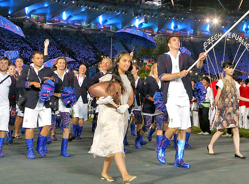 Team Czech Republic, London Olympic Opening Ceremony