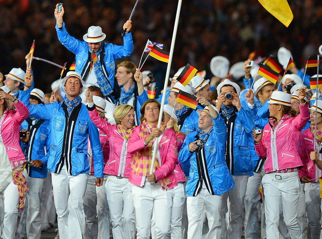 Team Germany, London Olympic Opening Ceremony