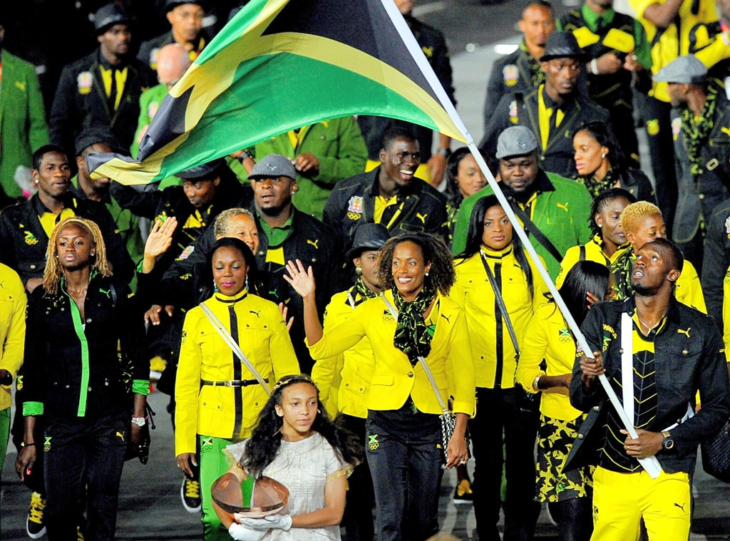 Team Jamaica, London Olympic Opening Ceremony