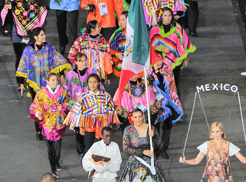 Team Mexico, London Olympic Opening Ceremony