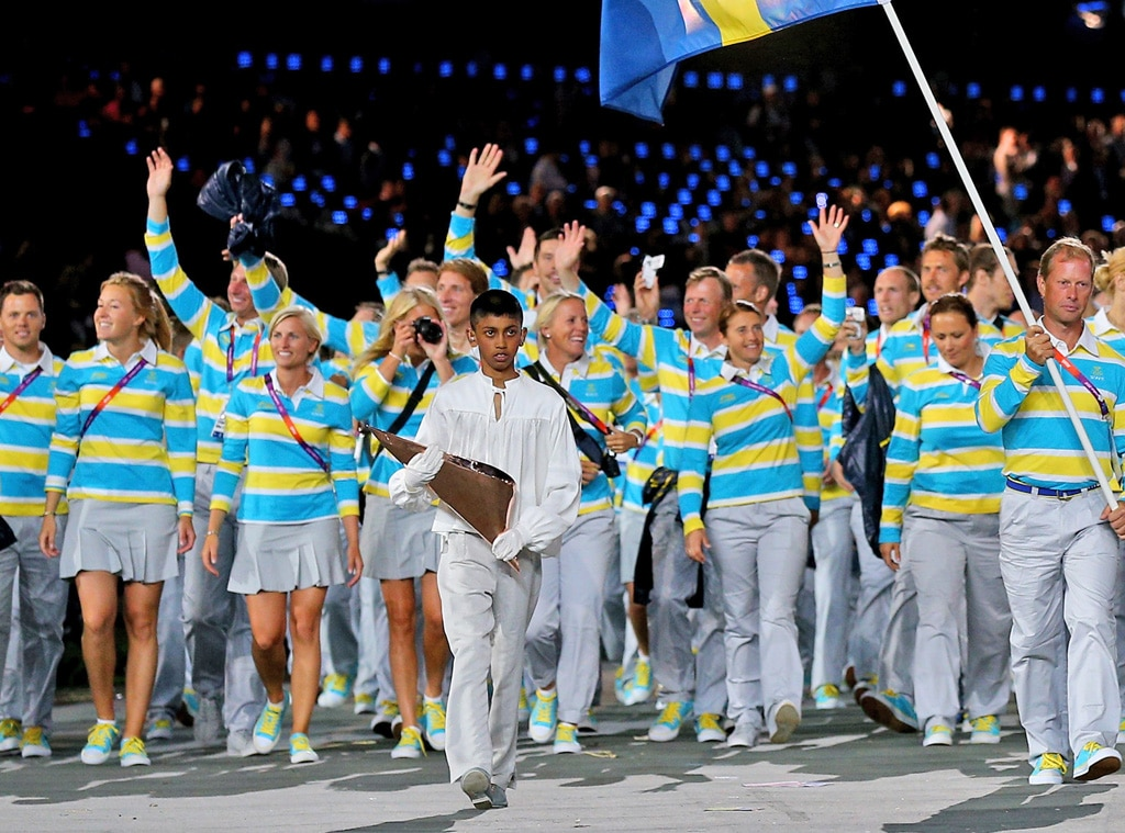 Team Sweden, London Olympic Opening Ceremony