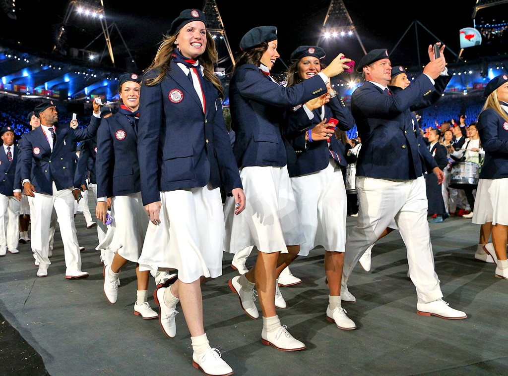Team United States,  London Olympic Opening Ceremony