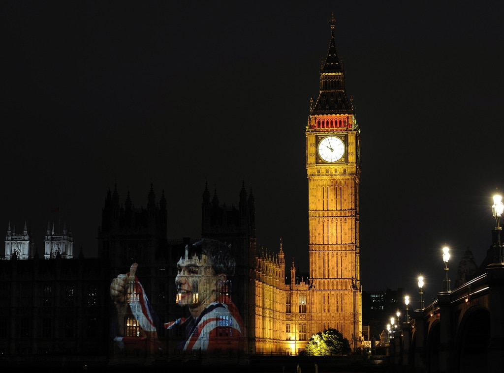 London Olympic Opening Ceremony, Jonathan Edwards, Big Ben