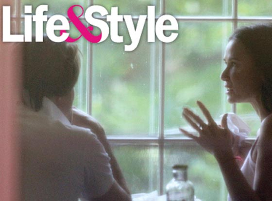 Demi Moore, Martin Henderson, Life and Style