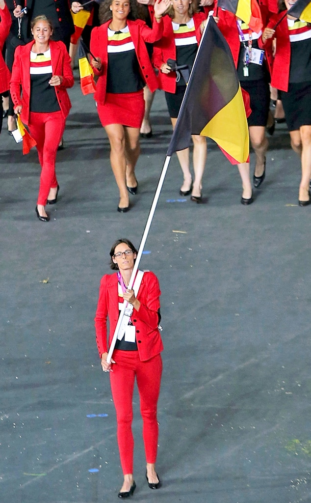 Team Belgium, London Olympic Opening Ceremony