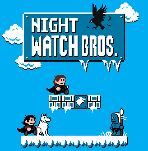 game of thrones mario brothers soup X2