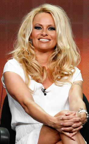 TCA Press Tour, Pamela Anderson