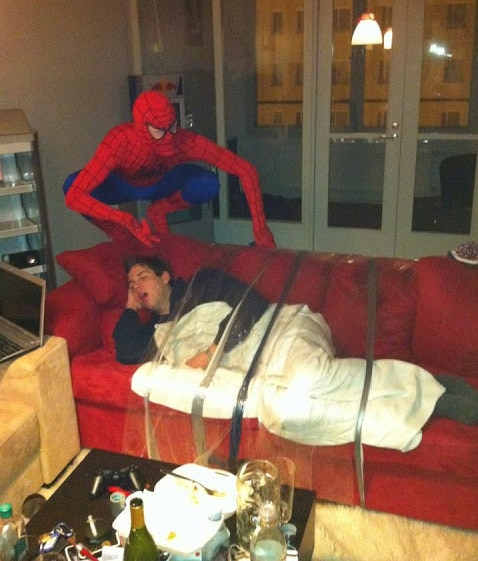 Soup Spider Man Couch X2