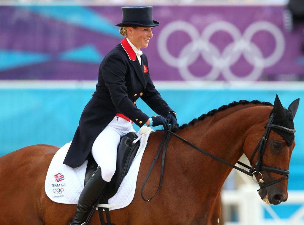 London 2012 Olympic Games, Zara Phillips