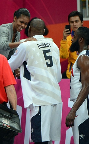 London 2012 Olympic Games, Kevin Durant, Michelle Obama