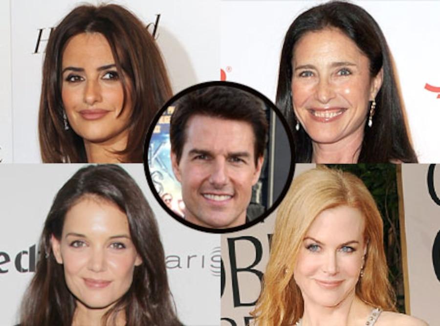 Tom Cruise, Katie Holmes, Nicole Kidman, Mimi Rodgers, Penelope Cruz