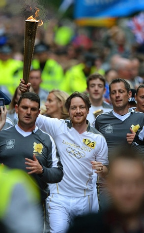 James McAvoy, Olympic Torchbearers