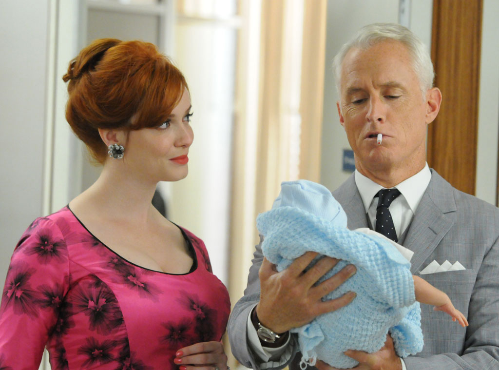 Christina Hendricks, John Slattery, Mad Men