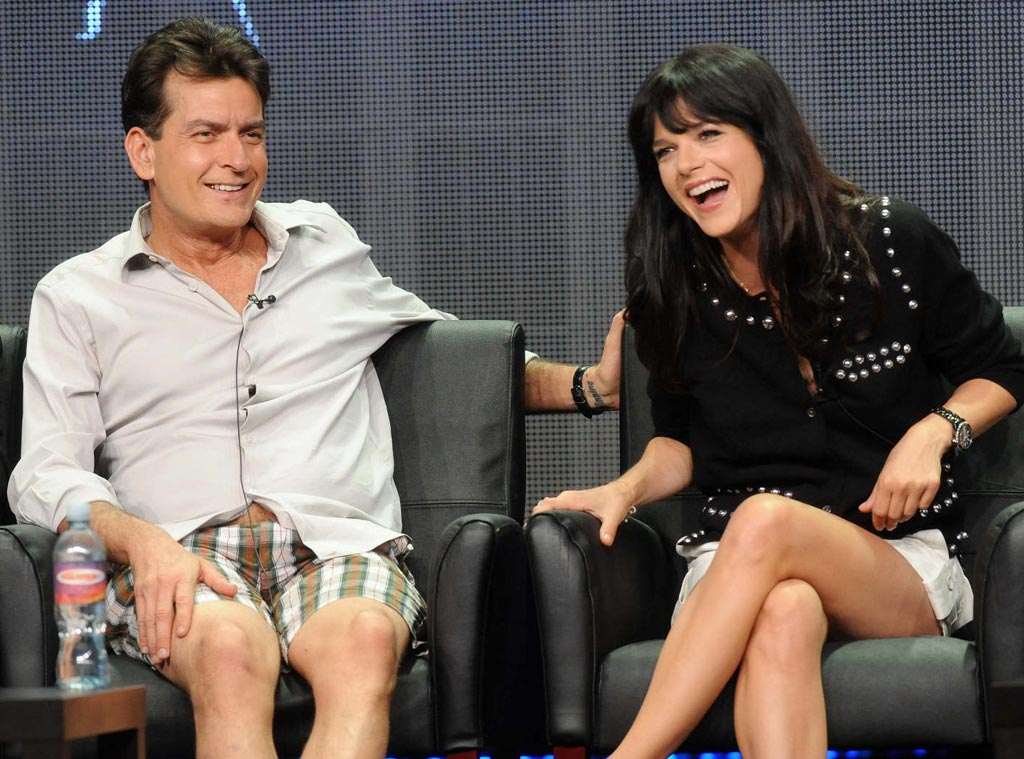 TCA Press Tour, Charlie Sheen, Selma Blair