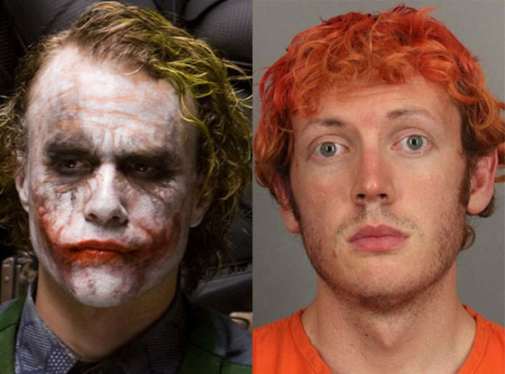 Heath Ledger, James Holmes