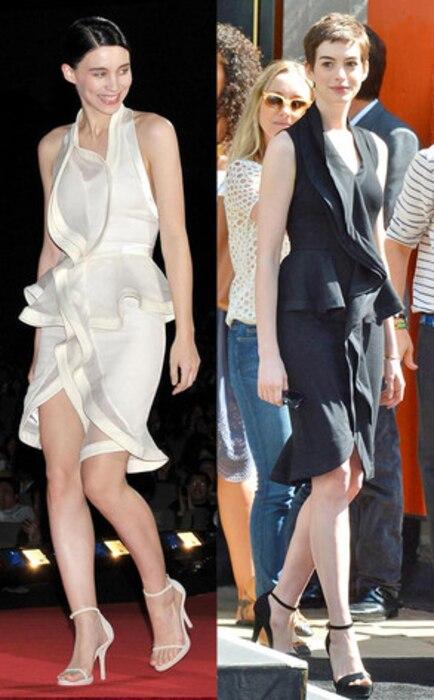 Anne Hathaway, Rooney Mara